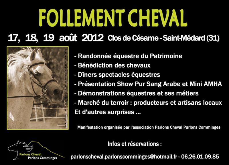 2012-08-Follement-Cheval-1°éd.-Clos-de-Césame-Saint-Médard-31360