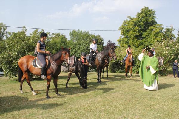 Bénédiction des chevaux©FC2012
